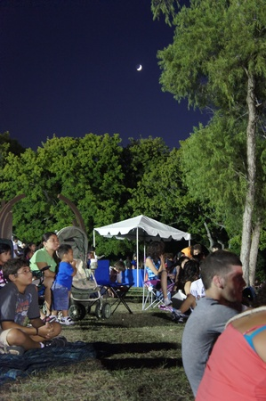 sugar land: Houston, Texas - Monday 4th July 2011 : Sugar Land residents get fired up for the City's 26th annual Red, White and Bluefest ready to set the skies ablaze of Oyster Creek Park on Monday, July 4th from 5 to 10 p.m to celebrate America's 235th birthday Editorial