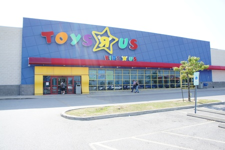 Houston, Texas - Saturday 20th August 2011 : An exterior of Toys R Us store in Katy Mills Drive Houston, Texas, United States Editorial