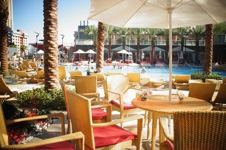 operates: Las Vegas, Nevada - 1� settembre 2011: Westgate Resorts gestisce la porzione di condominio del Planet Hollywood noto come torri di PH da Westgate