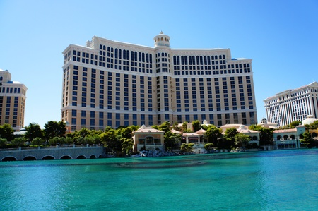 Las Vegas, Nevada,  - September 3 2011: The Bellagio resort and casino