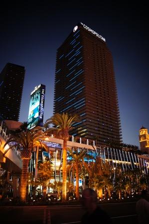 Las Vegas, Nevada - September 2, 2011: Cosmopolitan  Hotel on the famous Las Vegas Strip