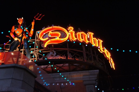 Las Vegas, Nevada - September 2 2011: Diablos Cantina Restaurant in Las Vegas Strip, Nevada Editorial