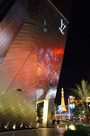Las Vegas, Nevada - September 1 2011 : Luxurious Louis Vuitton retail center at MGM Mirage CityCenter on the Las Vegas Strip, Nevada Stock Photo - 10881533