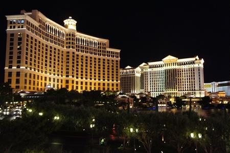 caesars palace:  Las Vegas, Nevada - September 1 2011 : Bellagio Hotel and Caesars Palace Resort and Casino in Las Vegas, Nevada Editorial