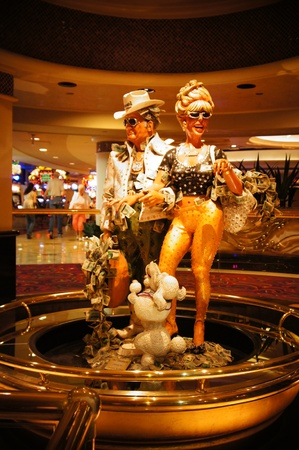 Las Vegas, Nevada - September 1 2011 : Harrahs Las Vegas Hotel and Casino in Las Vegas, Nevada