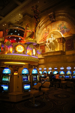 Las Vegas, Nevada - September 3 2011: Caesars Palace Hotel and Casino in Las Vegas, Nevada Editorial
