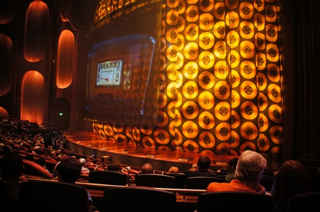 Las Vegas, Nevada - September 1 2011 : Viva ELVIS  by Cirque du Soleil at ARIA Resort and Casino, Las Vegas, Nevada