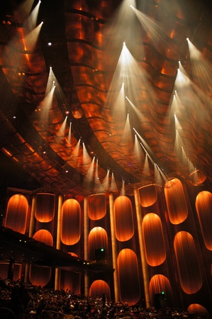 Las Vegas, Nevada - September 1 2011 : Viva ELVIS  by Cirque du Soleil at ARIA Resort and Casino, Las Vegas, Nevada Editorial