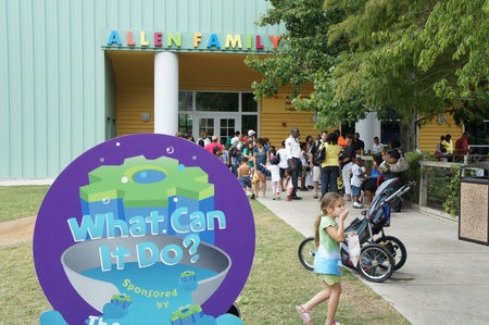 Houston, Texas - September 17, 2011 : The 15th Annual Museum District Day with free day in the Houston Museum District.  Seventeen museums waived their general admission fee to offer the community the opportunity to enjoy the District's diverse displays o