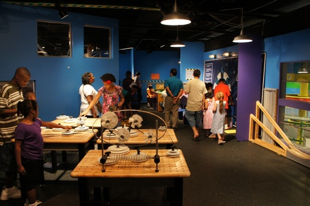 Houston, Texas - September 17, 2011 : The 15th Annual Museum District Day with free day in the Houston Museum District.  Seventeen museums waived their general admission fee to offer the community the opportunity to enjoy the Districts diverse displays