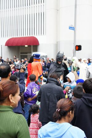 Houston, Texas - November 24, 2011 : The 62nd Annual Holiday Parade presented by H-E-B comes to life on the streets of downtown Houston,  Texas Stock Photo - 11459052