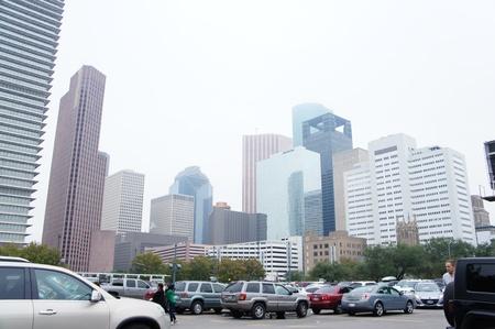 Houston, Texas - November 24, 2011 : Downtown Houston is the largest business district of Houston, Texas, United States Stock Photo - 12513416