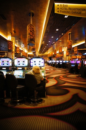 Las Vegas, Nevada - September 1 2011 : The M Resort Spa Casino Las Vegas is one of the newest hotels in Las Vegas