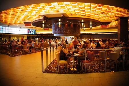 Las Vegas, Nevada - September 1 2011 : The M Resort Spa Casino Las Vegas is one of the newest hotels in Las Vegas
