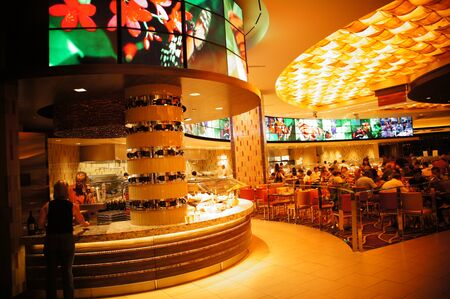 studio b: Las Vegas, Nevada - September 1 2011 : The M Resort Spa Casino Las Vegas is one of the newest hotels in Las Vegas