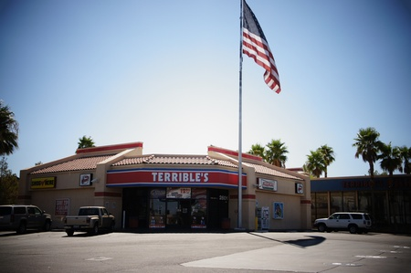 Las Vegas, Nevada - September 2 2011: Terribles Herbst- Gas - Convenience Stores, Carwash - lubes