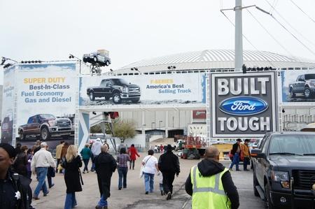 reliant stadium: Houston, Texas - feb 24- 26, 2013: Houston livestock Show and Rodeo. World