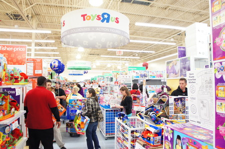 nightime: Houston, Texas - Nov 23 2012   TOYSRUS® TO KICK OFF ITS BIGGEST BLACK FRIDAY EVENT AT 8PM ON THANKSGIVING NIGHT WITH MORE THAN 200 INCREDIBLE DOORBUSTERS Editorial