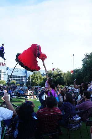 Houston, Texas - Sep 20 - Sep 22 2013   Australia's Strange Fruit brings theater, dance and the circus to the Jones Lawn, Discovery Green  Sajtókép