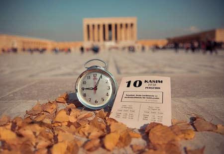 November 10 Atatürk commemoration day