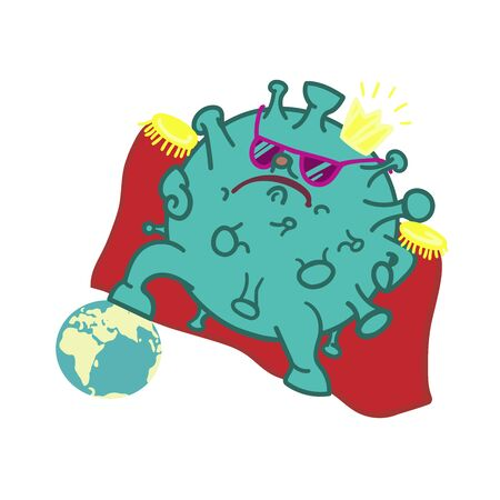 This virus imagines itself to be the winner of the World. Illusztráció
