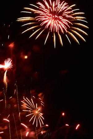 Fireworks Fallas Valencia regional celebration Foto de archivo