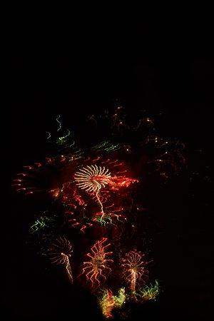 Fireworks Fallas Valencia Foto de archivo