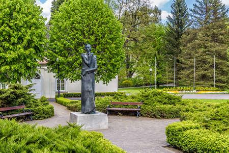 frederic chopin: Duszniki Zdroj, mansion of Frederic Chopin Stock Photo