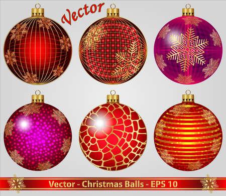 Christmas Balls Stock Vector - 15008249