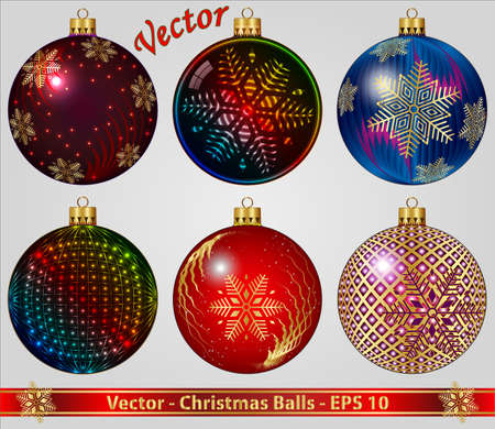 Christmas Balls Stock Vector - 15008251