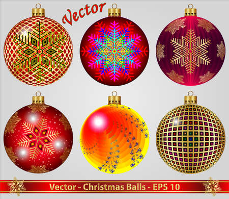Christmas Balls Stock Vector - 15081266