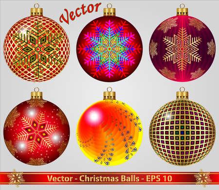 Christmas Balls Stock Vector - 15081266