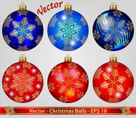Kerstballen Stockfoto - 15081250