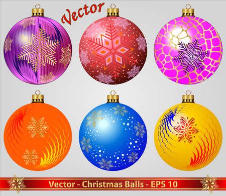 Kerstballen Stockfoto - 15081205