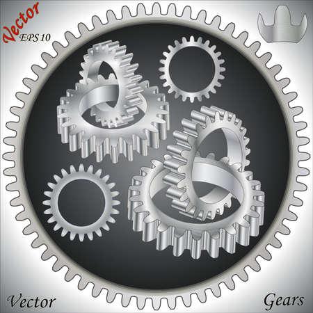 Gears Stock Vector - 15142321