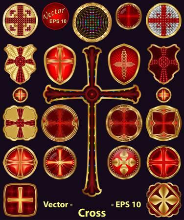 croix de fer: Croix de mettre Illustration