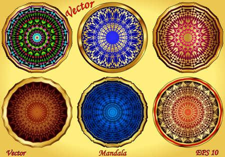 Mandala Stock Vector - 15142369
