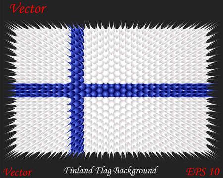 bandera de finlandia: Finlandia fondo de la bandera