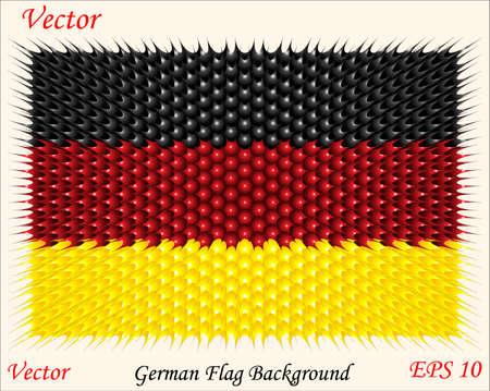 official symbol: German Flag Background  Illustration