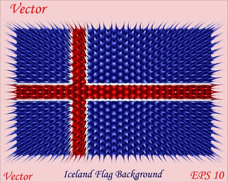 iceland flag: Iceland Flag Background