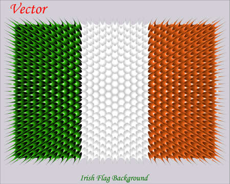 irish pride: Irish Flag Background