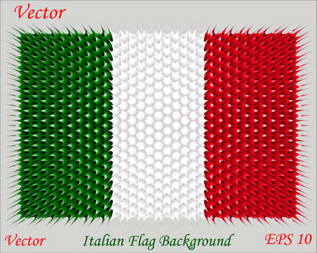 bandera de italia: Fondo de la bandera italiana