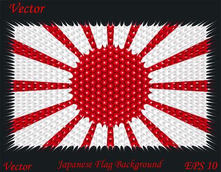 bandera japon: Fondo de la bandera japonesa
