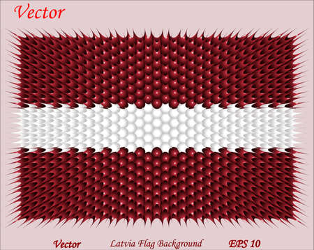 latvia flag: Latvia Flag Background Illustration