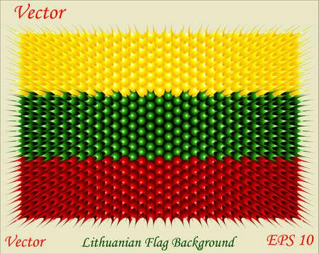 lithuanian: Lithuanian Flag Background  Illustration