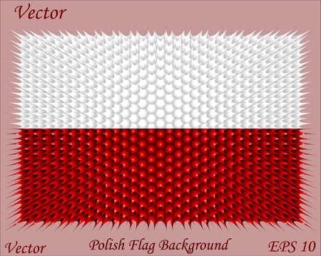 polish flag: Polish Flag Background