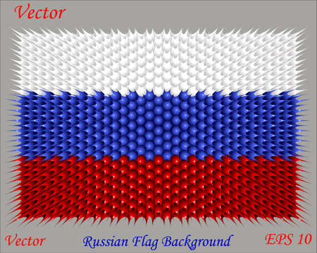 russian flag: Russian Flag Background Illustration