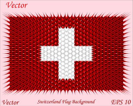 zwitserland vlag: Vlag van Zwitserland Achtergrond