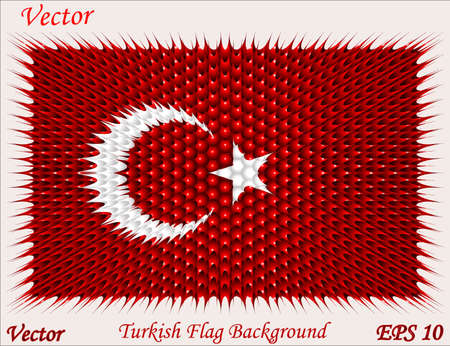 turkish flag: Turkish Flag Background
