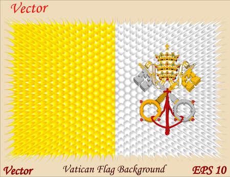Vatican Flag Backgrond